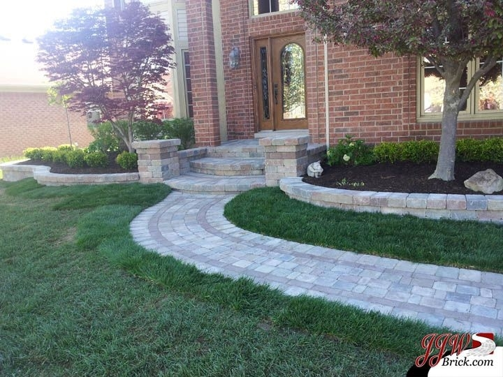 Simple Front Yard Landscaping Ideas For Home In Shelby Twp., Mi pertaining to Landscaping Ideas For Front Yard With Bricks
