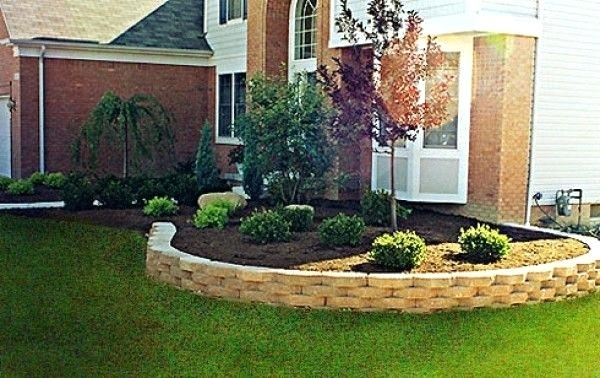 Simple Landscaping Designs – Bowhuntingsupershow in Simple Garden Ideas For Small Front Yard