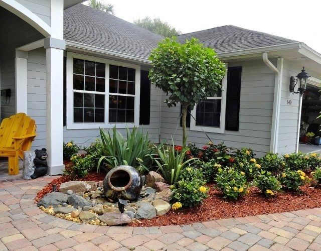 Surprising Ideas For Front Yard Landscaping Without Grass Pics within Landscaping Ideas For Front Yard Without Grass