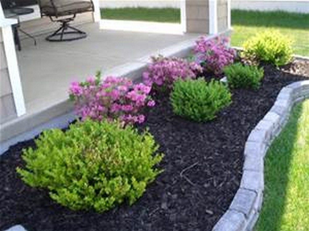 Top 25+ Best Cheap Landscaping Ideas Ideas On Pinterest | Cheap intended for Simple Garden Ideas For Small Front Yard