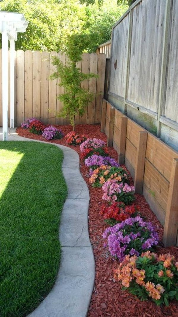 Top 25+ Best Concrete Backyard Ideas On Pinterest | Concrete Deck pertaining to Small Backyard Landscaping Ideas Do Myself