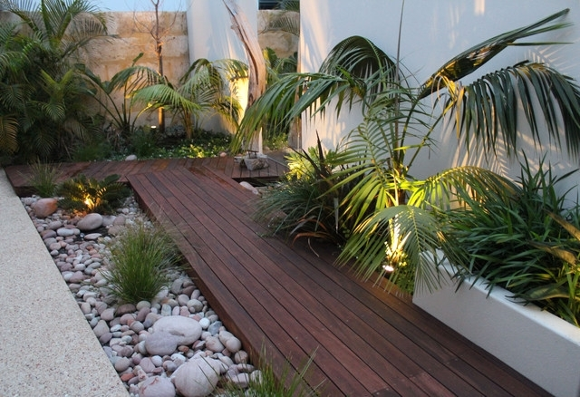 Tropical Landscape Ideas For Small Side Yard - Garden Design