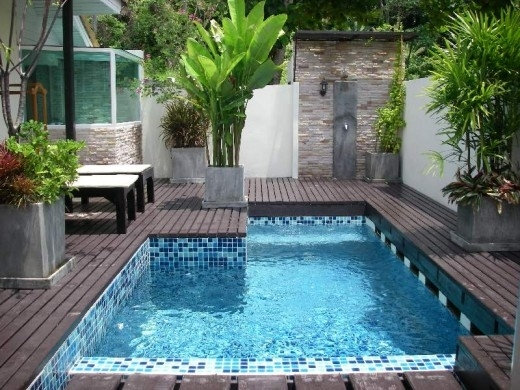Wonderful Small Backyard With Pool Landscaping Ideas Backyard with regard to Landscaping Ideas For Small Backyards With A Pool