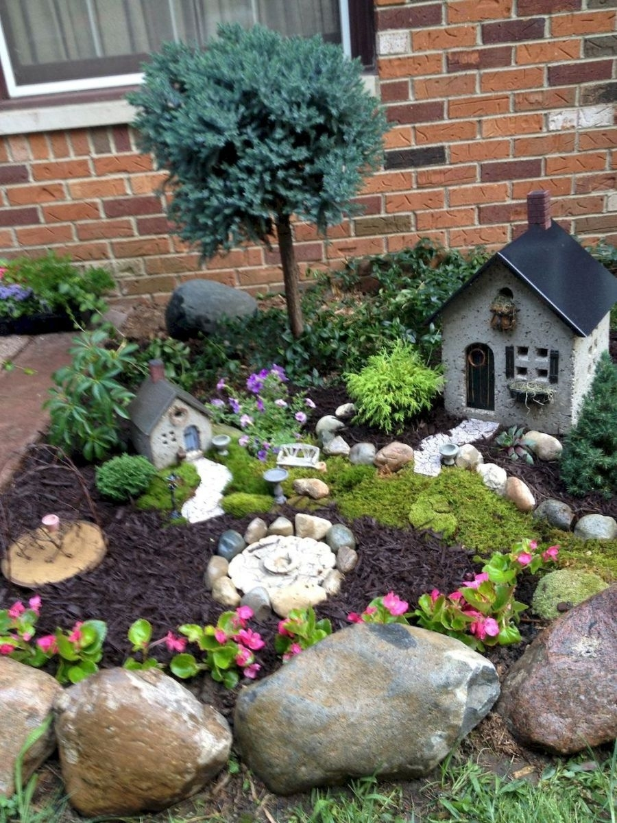 120 Amazing Backyard Fairy Garden Ideas On A Budget (100 | Pinterest with regard to Backyard Fairy Garden Ideas