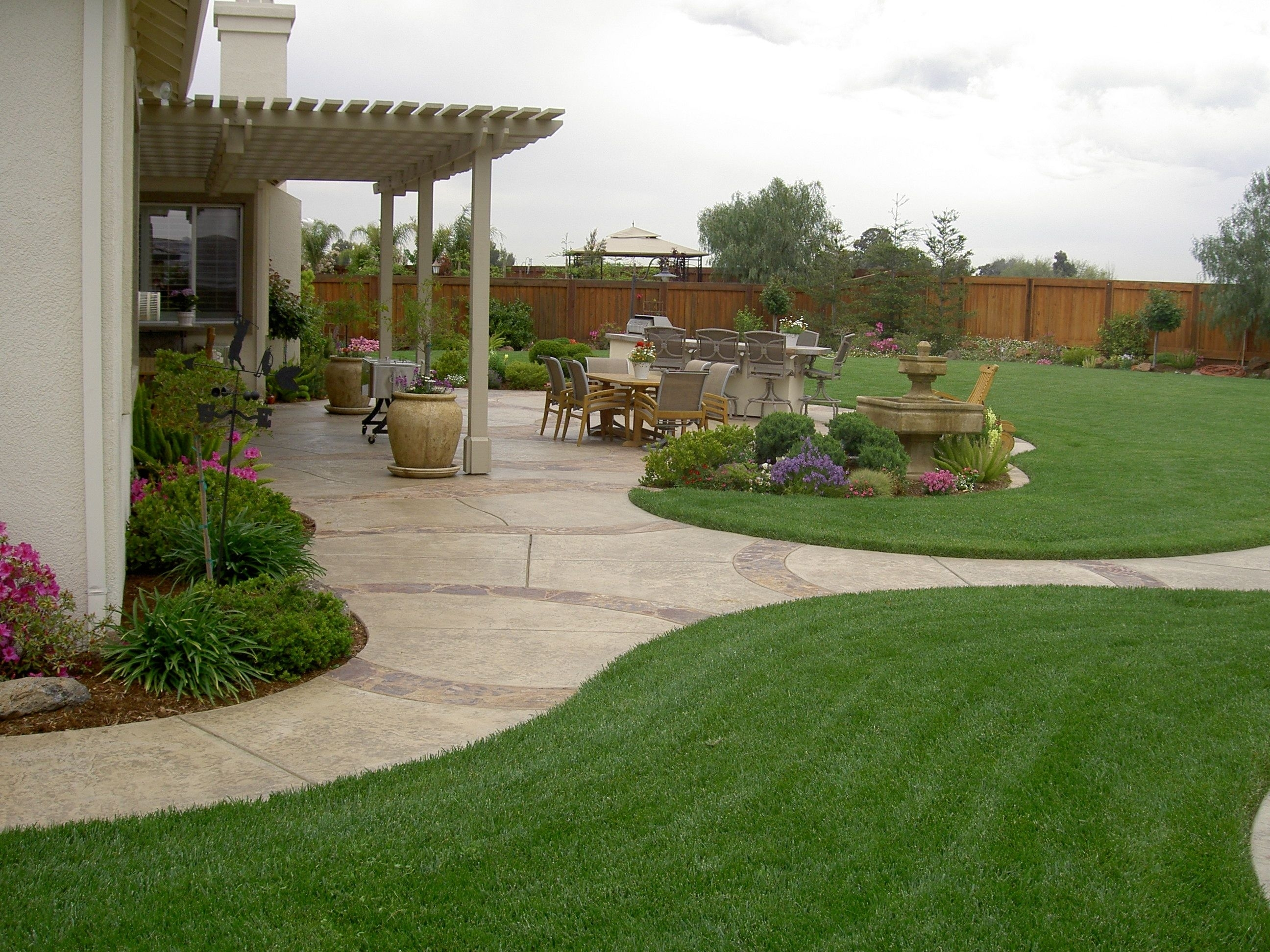 20 Awesome Landscaping Ideas For Your Backyard | Pinterest throughout Large Backyard Garden Ideas