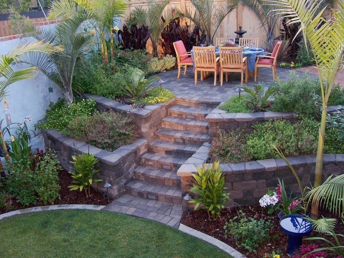 Attractive Landscaping Ideas For Slopes — Bistrodre Porch And pertaining to Backyard Garden On A Slope