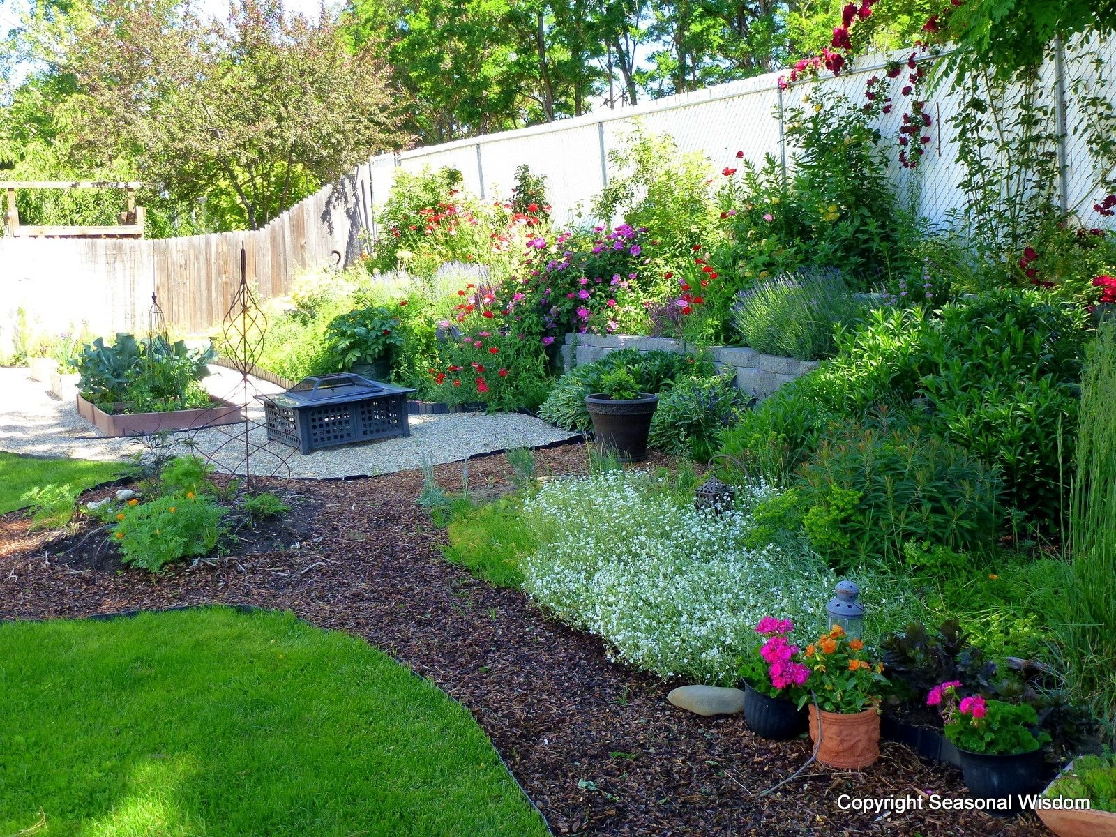 Backyard Cottage | Months, I've Been Creating More Garden Rooms In with regard to Suburban Backyard Garden Ideas