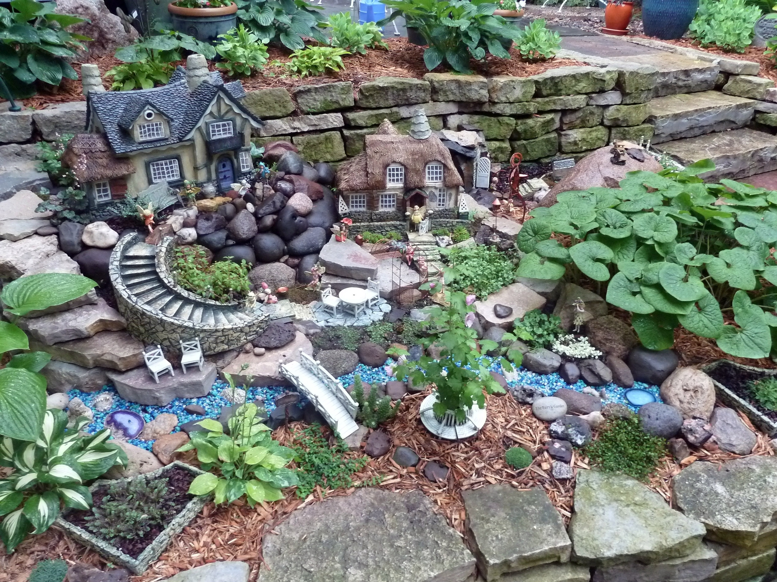 Backyard Fairy Garden Ideas | Trellischicago throughout Backyard Fairy Garden Ideas
