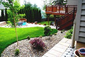 Backyard Garden Design Ideas Homesfeed Awesome Liltigertoo With regarding Amazing Decks Backyard Garden Ideas
