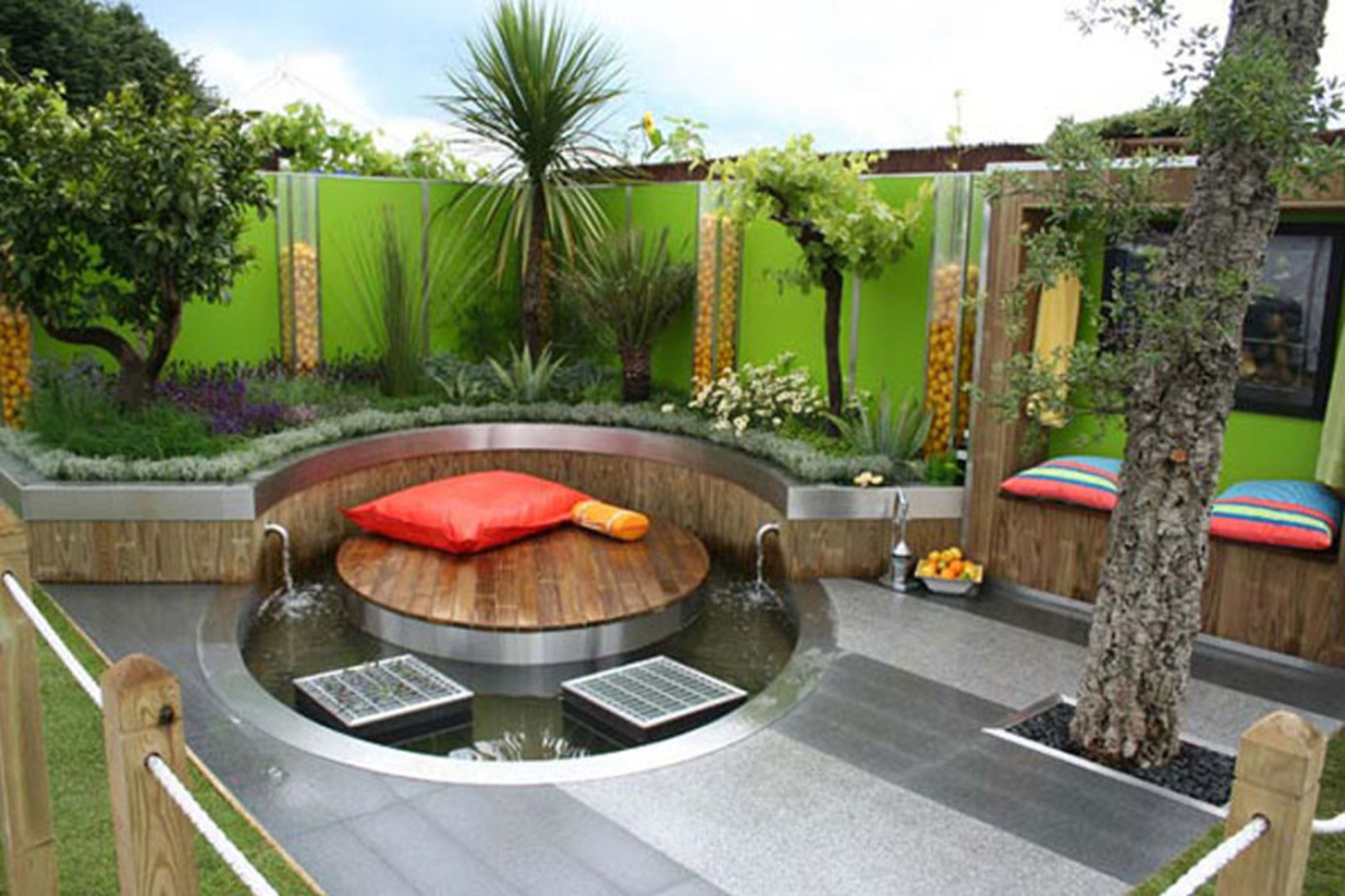 Backyard Ideas Cheap Add Planters To Your Landscape Landscaping with Cool Backyard Garden Ideas
