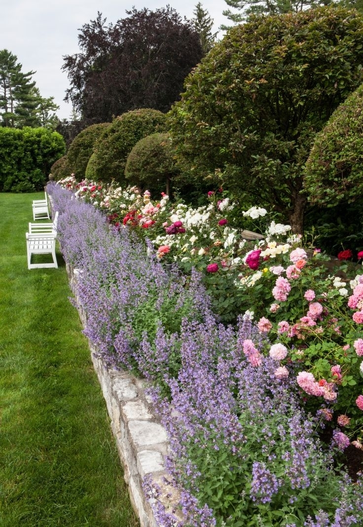 Carolyne Roehm S Rose Garden At Inspiration For The Future Of Olivia intended for Small Backyard Rose Garden Ideas