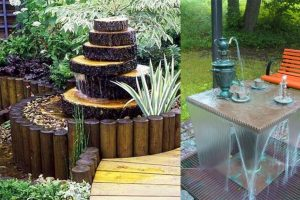 Creative Garden Small Fountain Ideas | Outdoor Water Fountain - Youtube regarding Backyard Garden Water Features