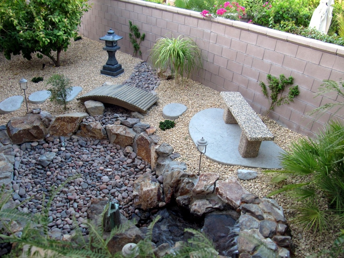 Ellegant Front Yard Landscaping Ideas With Rocks Jbeedesigns Outdoor intended for Small Backyard Rock Garden Ideas