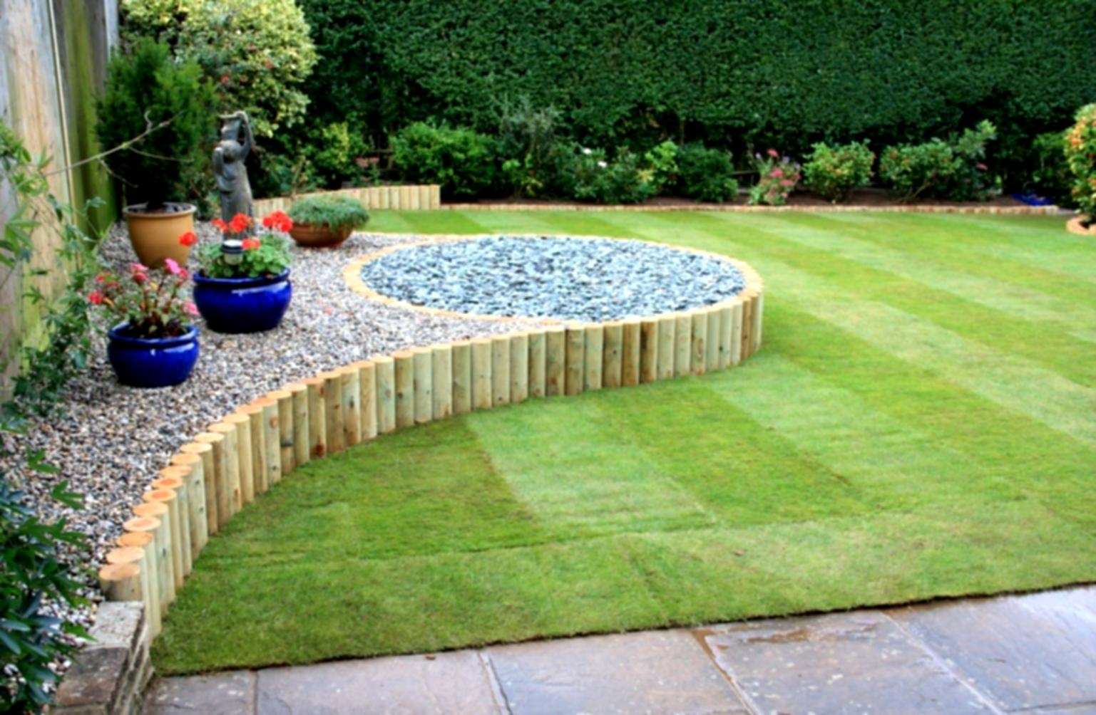 Garden Landscaping Ideas Backyard Country Nz | Revistaalmazara for Backyard Garden Landscape Ideas