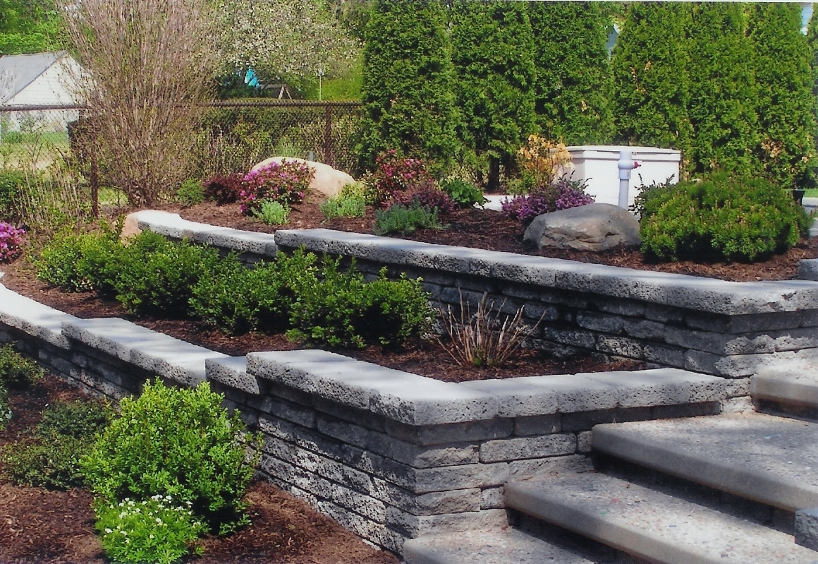 Gardening With Retainer Walls | What's New At Blue Tree intended for Backyard Garden Retaining Wall