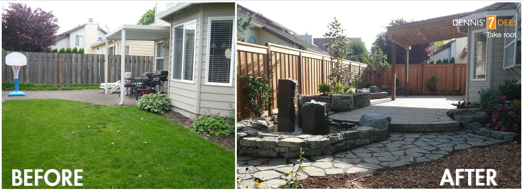 Glamorous Small Backyard Ideas Before After Pictures Design Ideas for Backyard Garden Ideas Before And After