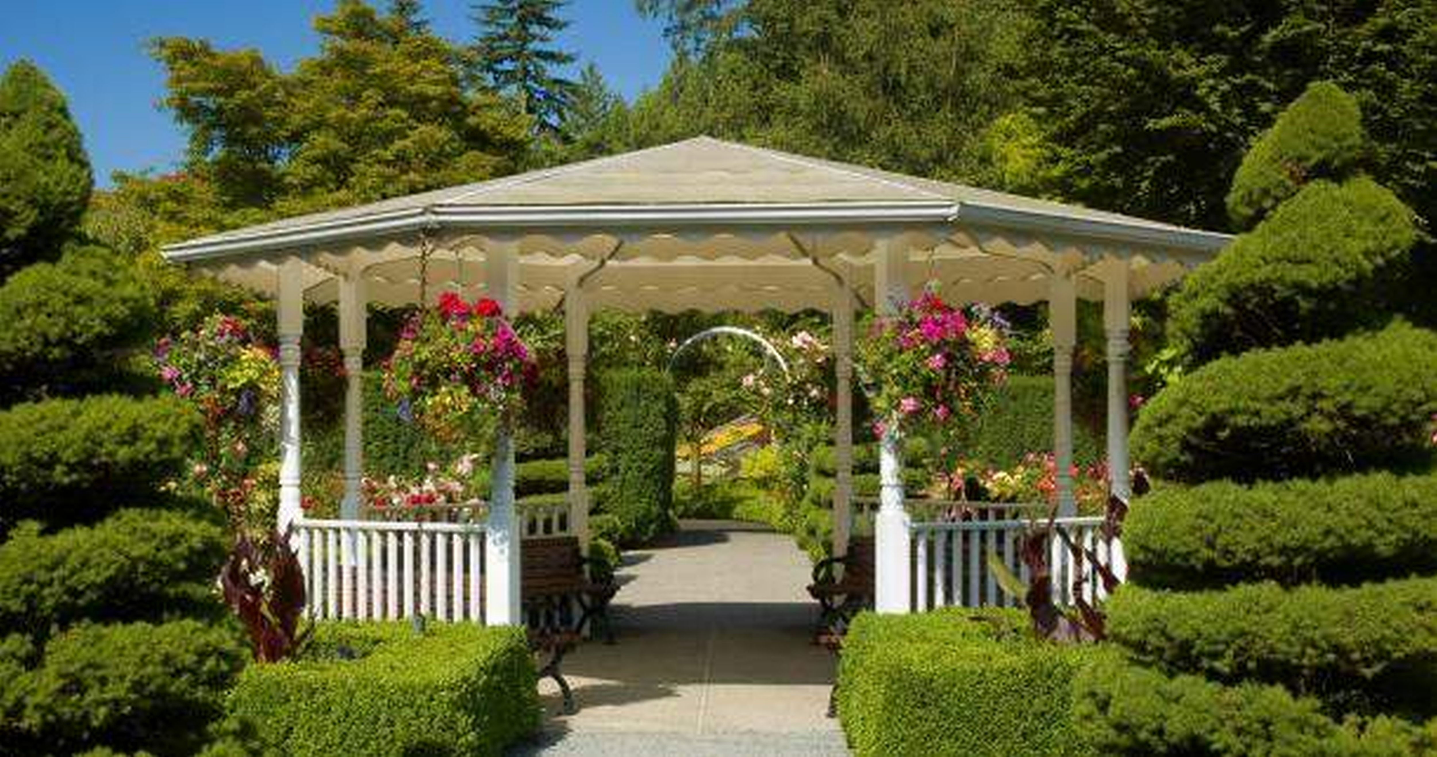 House Luxury Design Landscape Newest Backyard Expressions Gazebo intended for Backyard Expressions Garden Deluxe Pergola