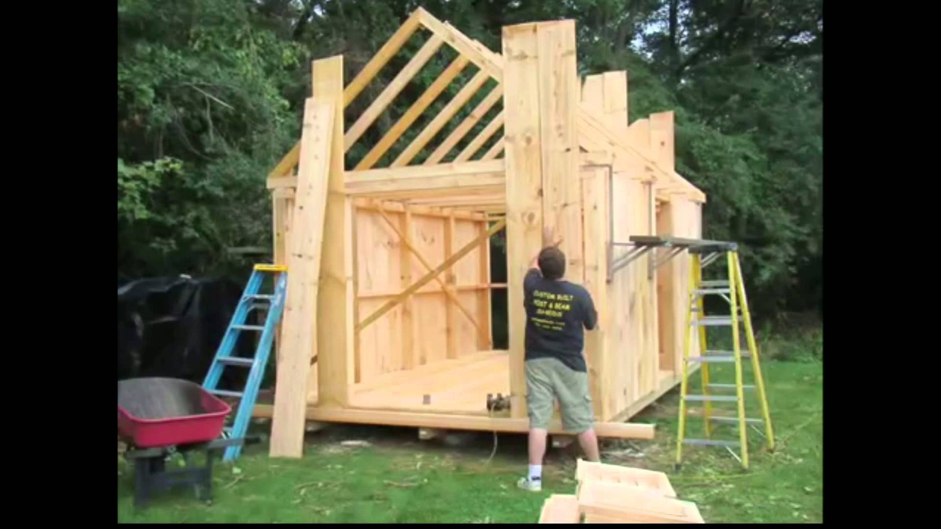 How To Build A Garden Shed • Building A Shed • How To Build A Shed intended for Backyard Garden Shed Plans