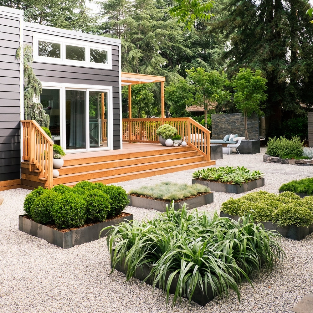 15 Tiny Outdoor Garden Ideas For The Urban Dweller: Small Backyard Zen Garden Ideas