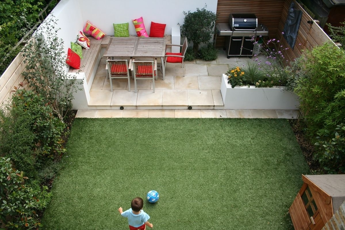 Like The Idea Of Patio In The Back Of The Yardmaybe Next To within Small Backyard Garden Ideas Uk