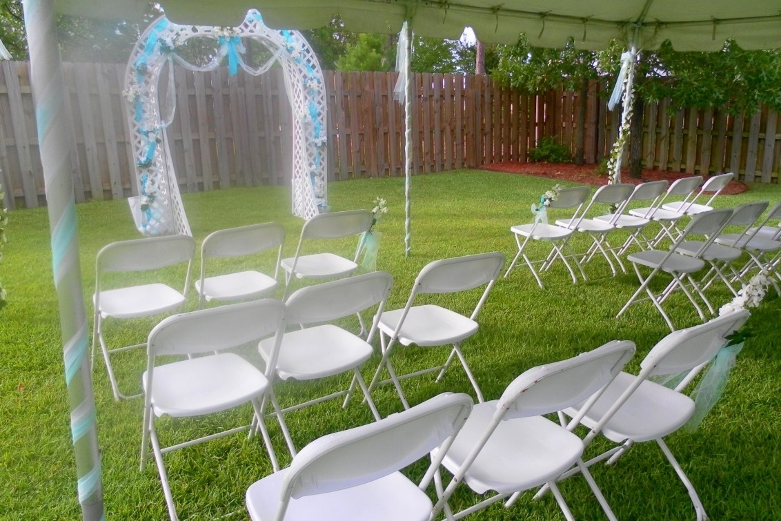 Multipurpose Outdoor Wedding Ideas Ways To Use 50Th Anniversary regarding Small Backyard Garden Wedding Ideas