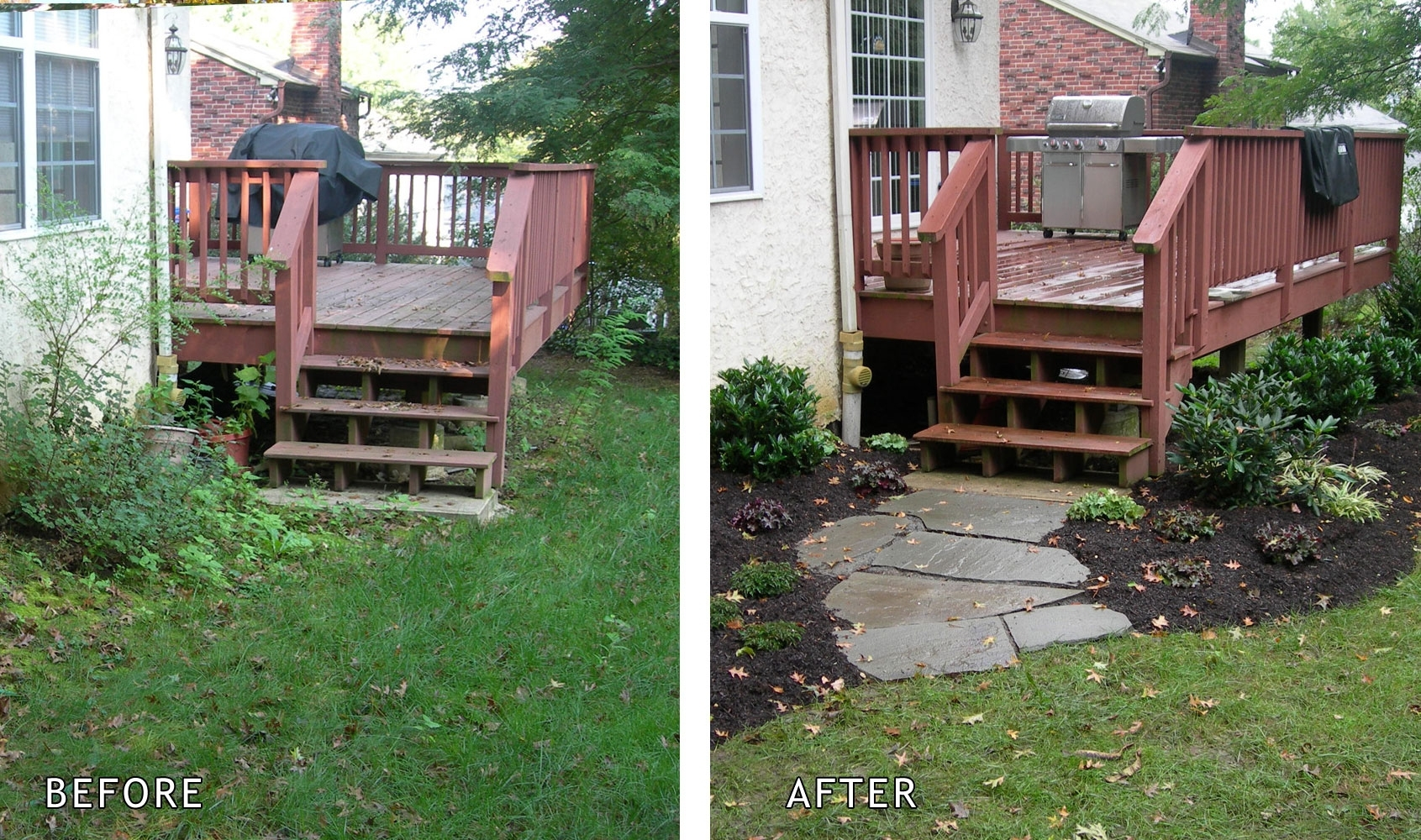 Naturescapes Landscaping Portfolio Gallery for Backyard Garden Before And After