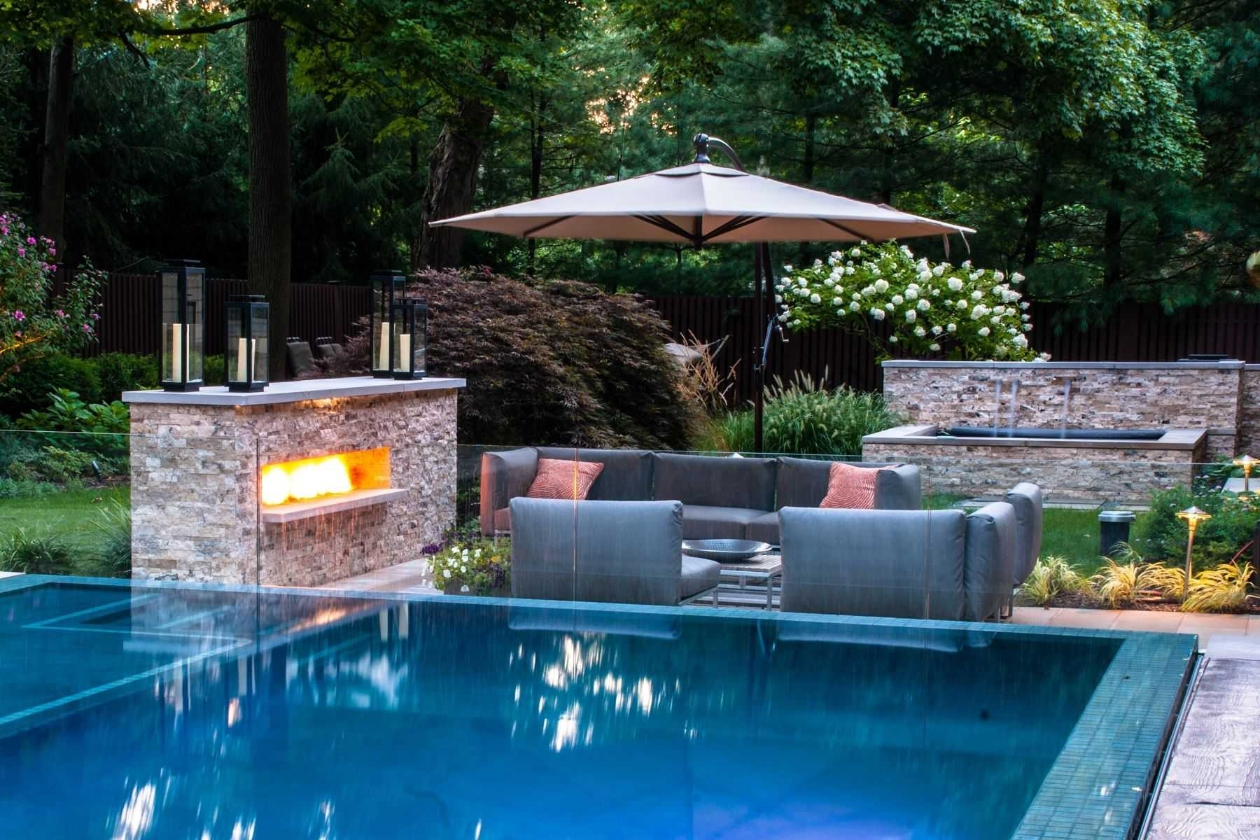 Outstanding Small Backyard Pools With Best Garden Pool Ideas pertaining to Backyard Garden And Pool Ideas