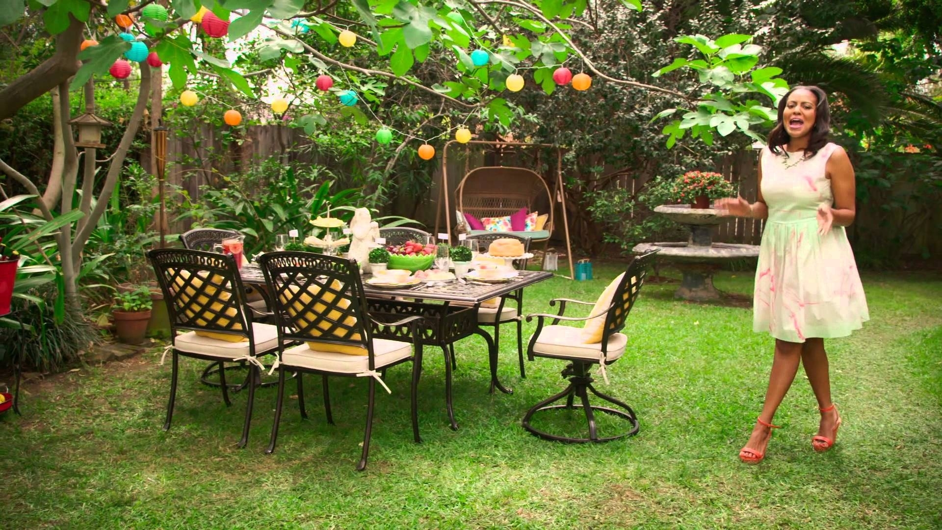 Pier 1 Imports: The Perfect Look For A Garden Party Brunch - Youtube intended for Backyard Easter Garden Brunch