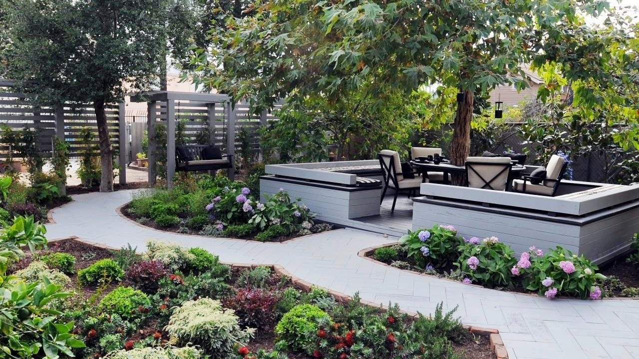 Small Backyard Landscaping Ideas - Backyard Garden Ideas - Youtube in Backyard Garden Landscape Ideas