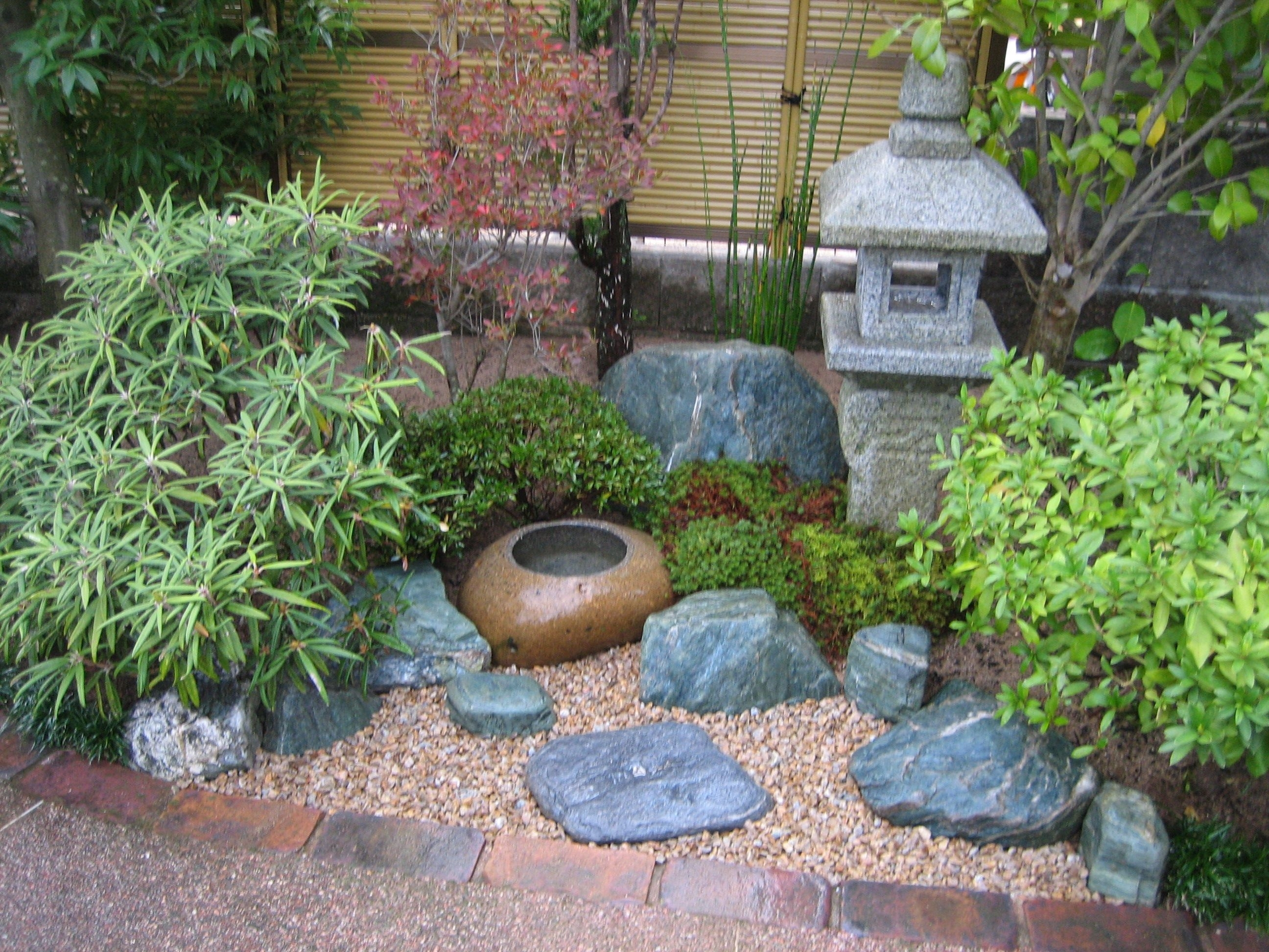 Small Space Japanese Garden (10, 15) … | Pinteres… pertaining to Backyard Japanese Garden Plants