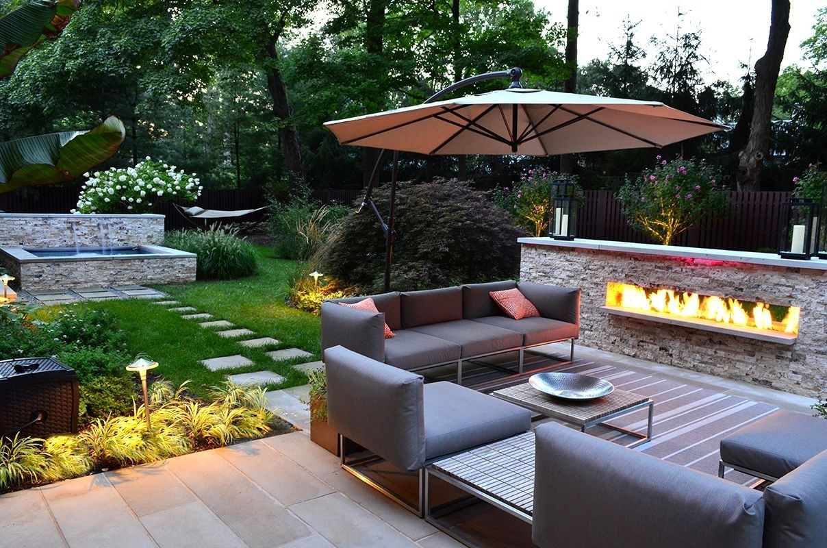 Small Square Backyard Landscaping Ideas Exterior Inspiring Backyard within Square Backyard Garden Ideas
