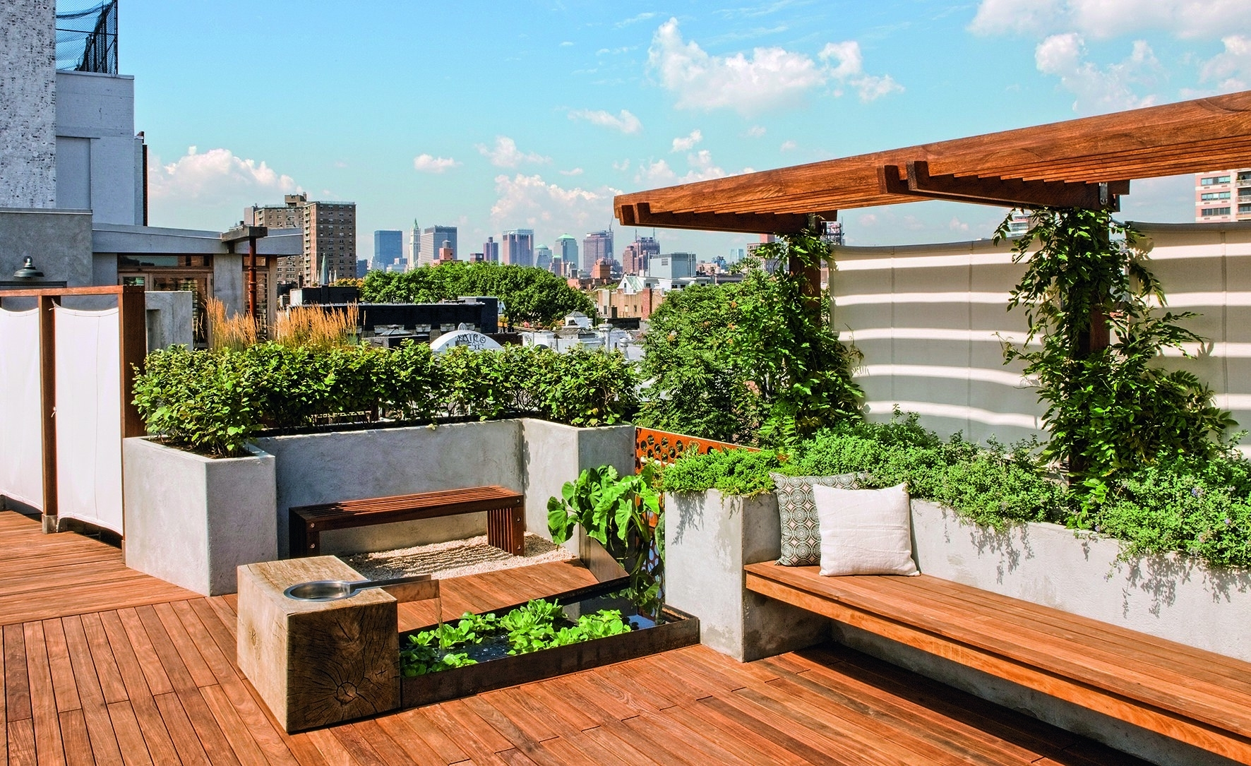 9 Remarkable Rooftop Garden Designs Around The World Photos within House Design With Rooftop Garden