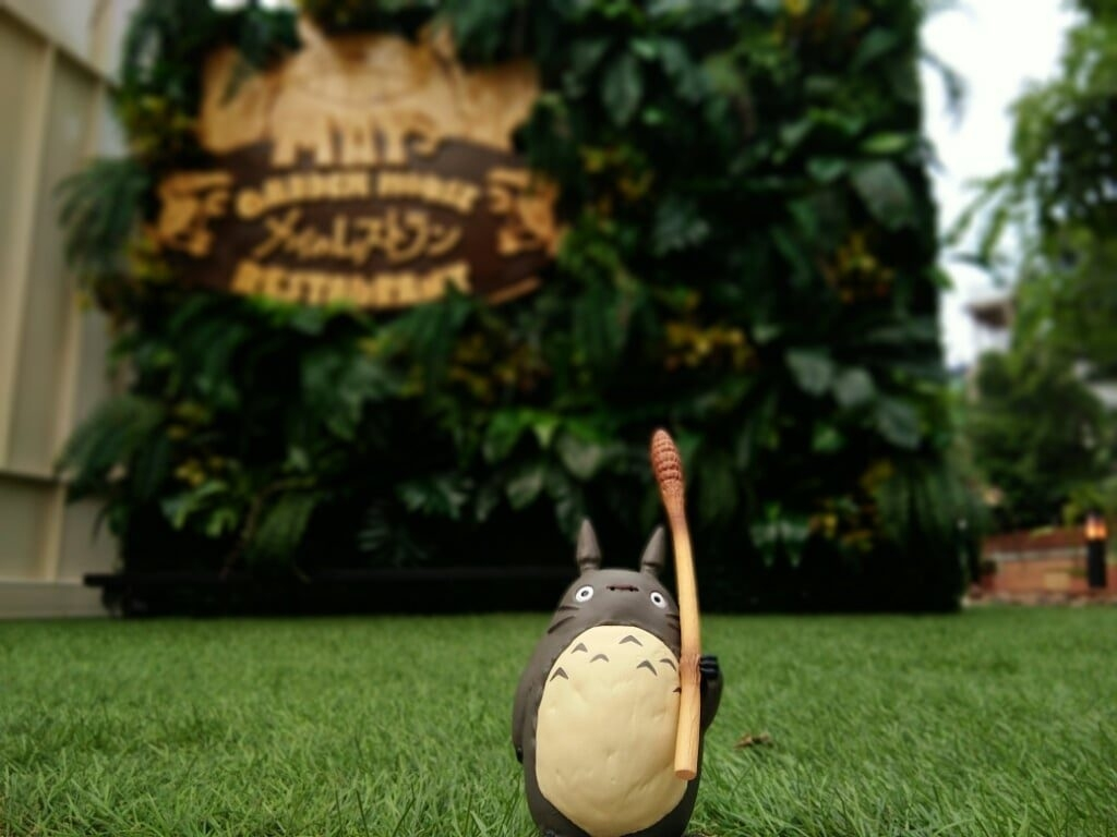An Actual Totoro Restaurant Is Opening In Thailand! - Female for May's Garden House Restaurant Bangkok