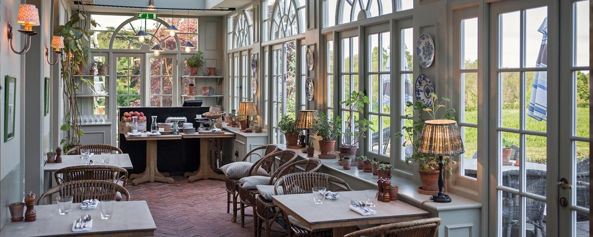 Beaverbrook | English Country House, Hotel, Restaurant & Spa | Eat within The Garden House Restaurant Surrey
