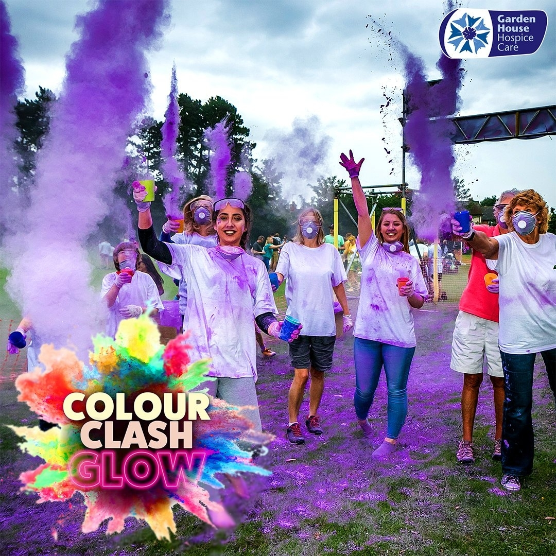 """Garden House Hospice On Twitter: """"looking For An Action-Packed Day with Garden House Hospice Colour Clash"""