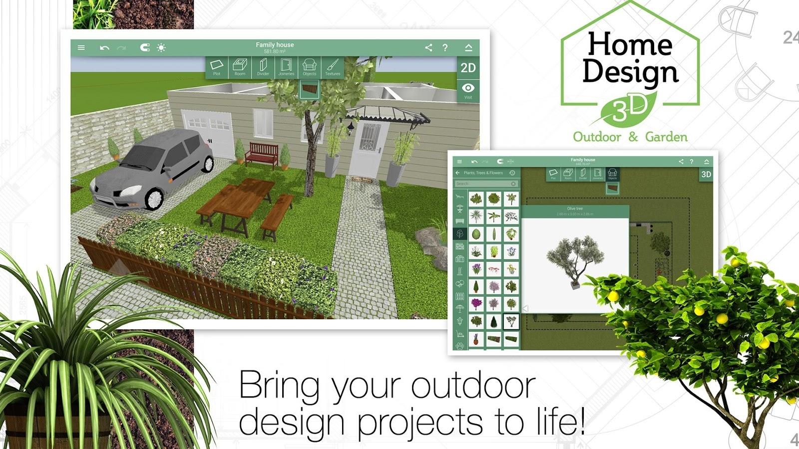 Home Design 3D Outdoor/garden 4.2.4 Apk + Obb (Data File) Download with Garden And House Design Software