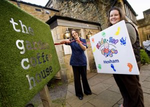 Kids 1St - Kids 1St Hexham Launches The New Baby Lounge At The for The Garden House Cafe Hexham