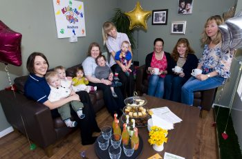 Kids 1St - Kids 1St Hexham Launches The New Baby Lounge At The in The Garden House Cafe Hexham