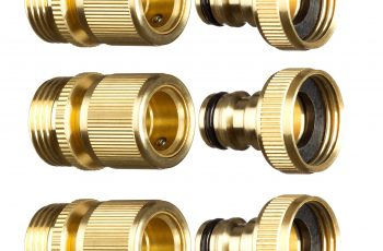 New Garden Hose Quick Connector. ¾ Inch Ght Brass Easy Connect regarding Garden Hose Quick Connector Set