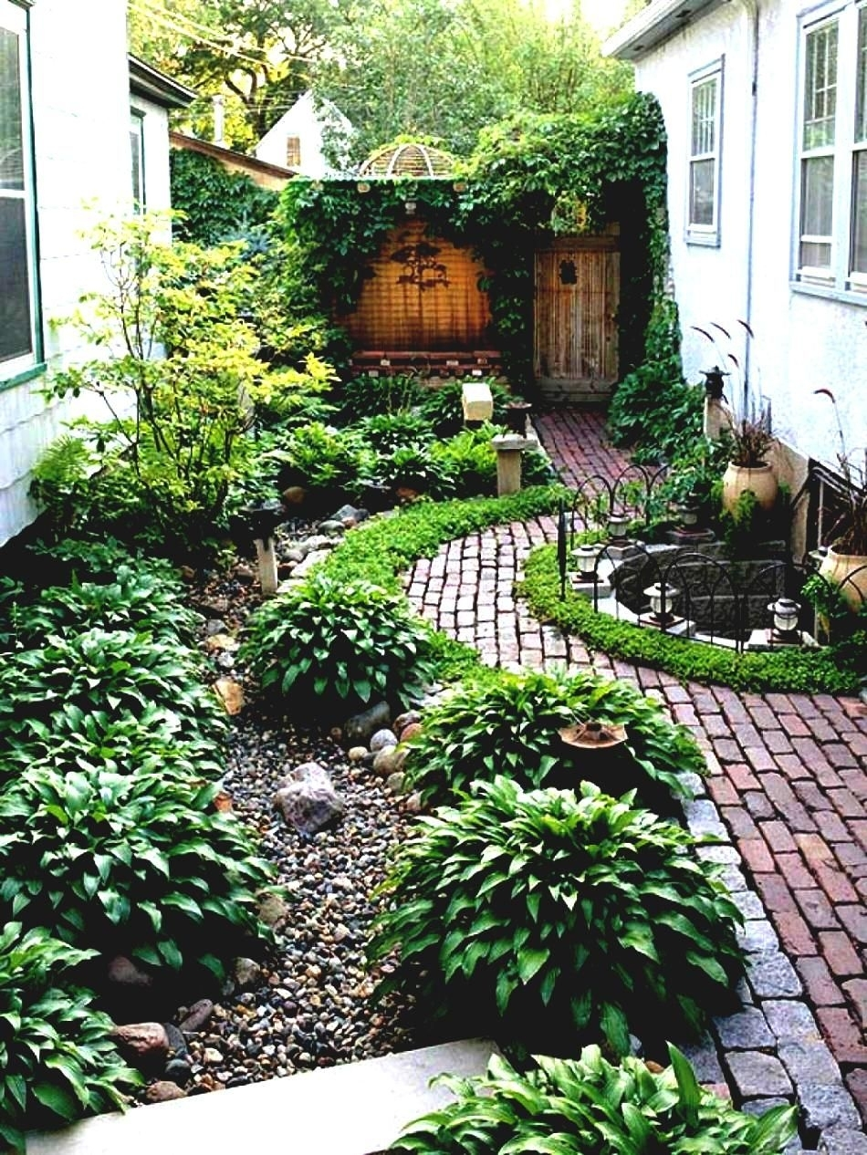 Simple Landscaping Ideas Around House Garden And Patio Narrow Side throughout Garden Design Around The House