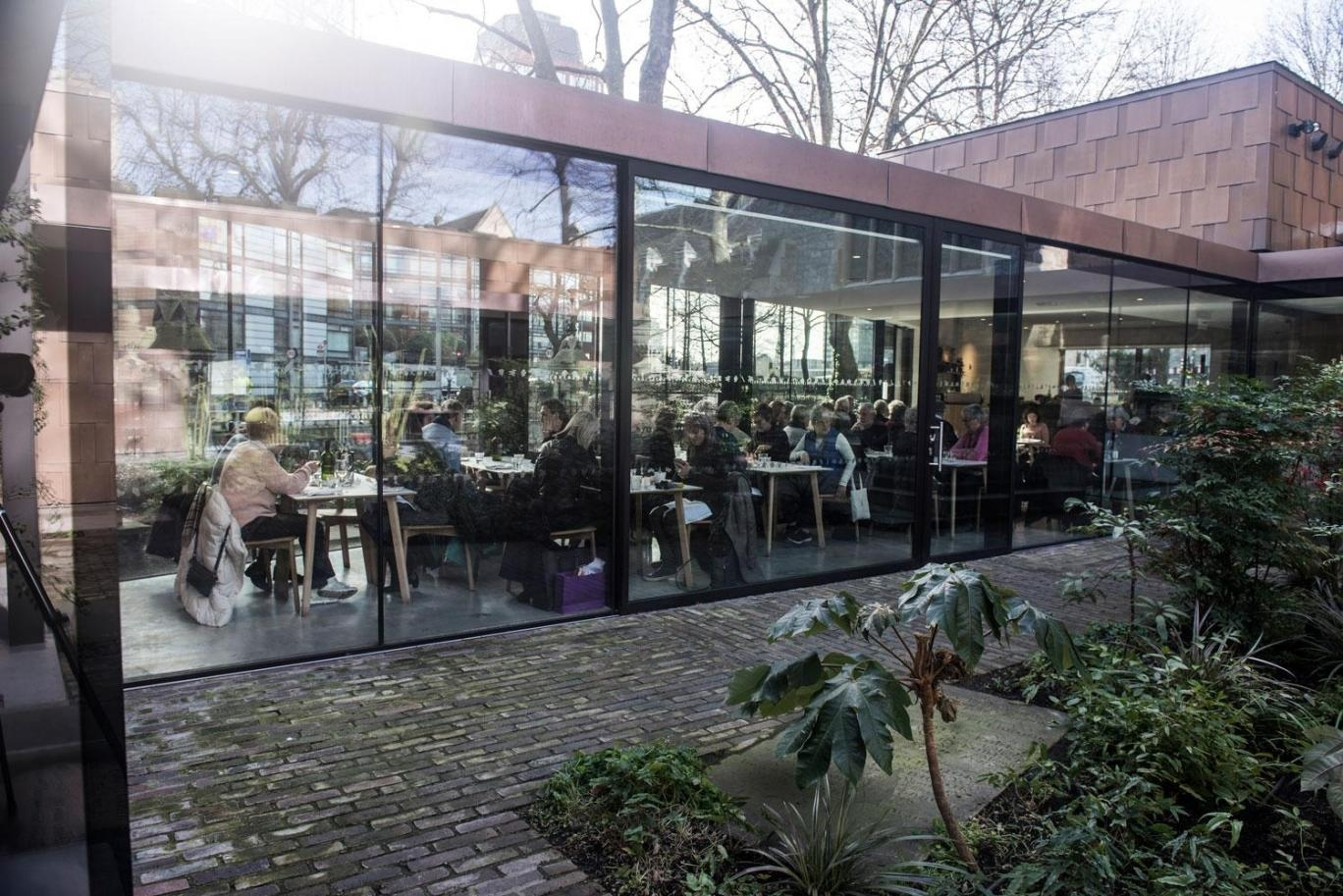 The Garden Café Review: A Leafy Enclave To Treasure In Lambeth within Garden House Restaurant Motor City