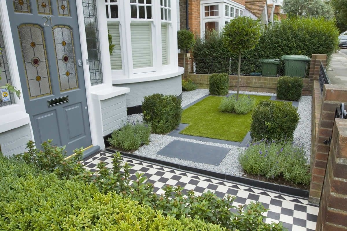 25 Landscape Design For Small Spaces | Garden Projects | Small Front pertaining to City Garden Design Terraced House