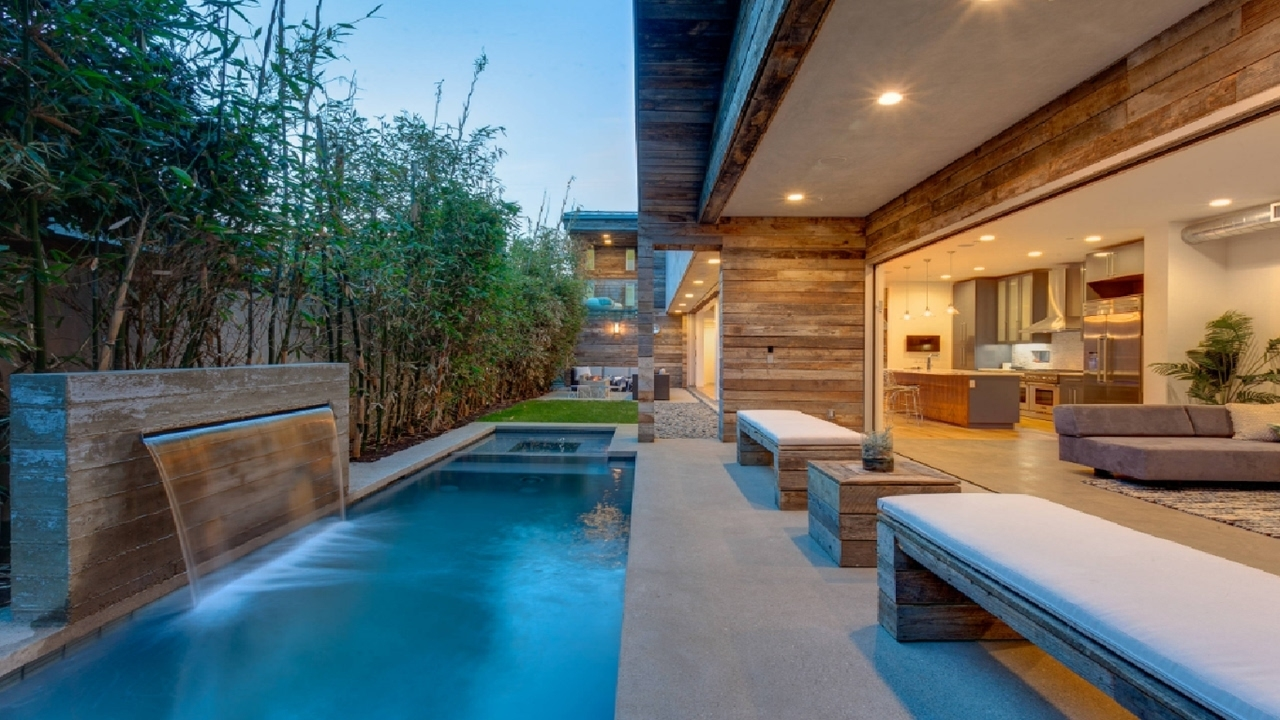 30 Beautiful House Pool Design Ideas - Youtube regarding House Design With Garden And Pool