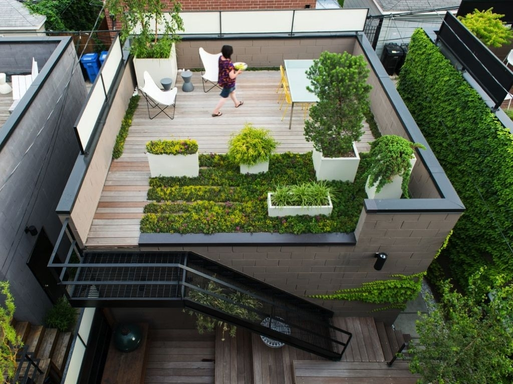 50 Rooftop Garden Ideas Can Make Home Look Amazing | Dream for Best House Design With Garden