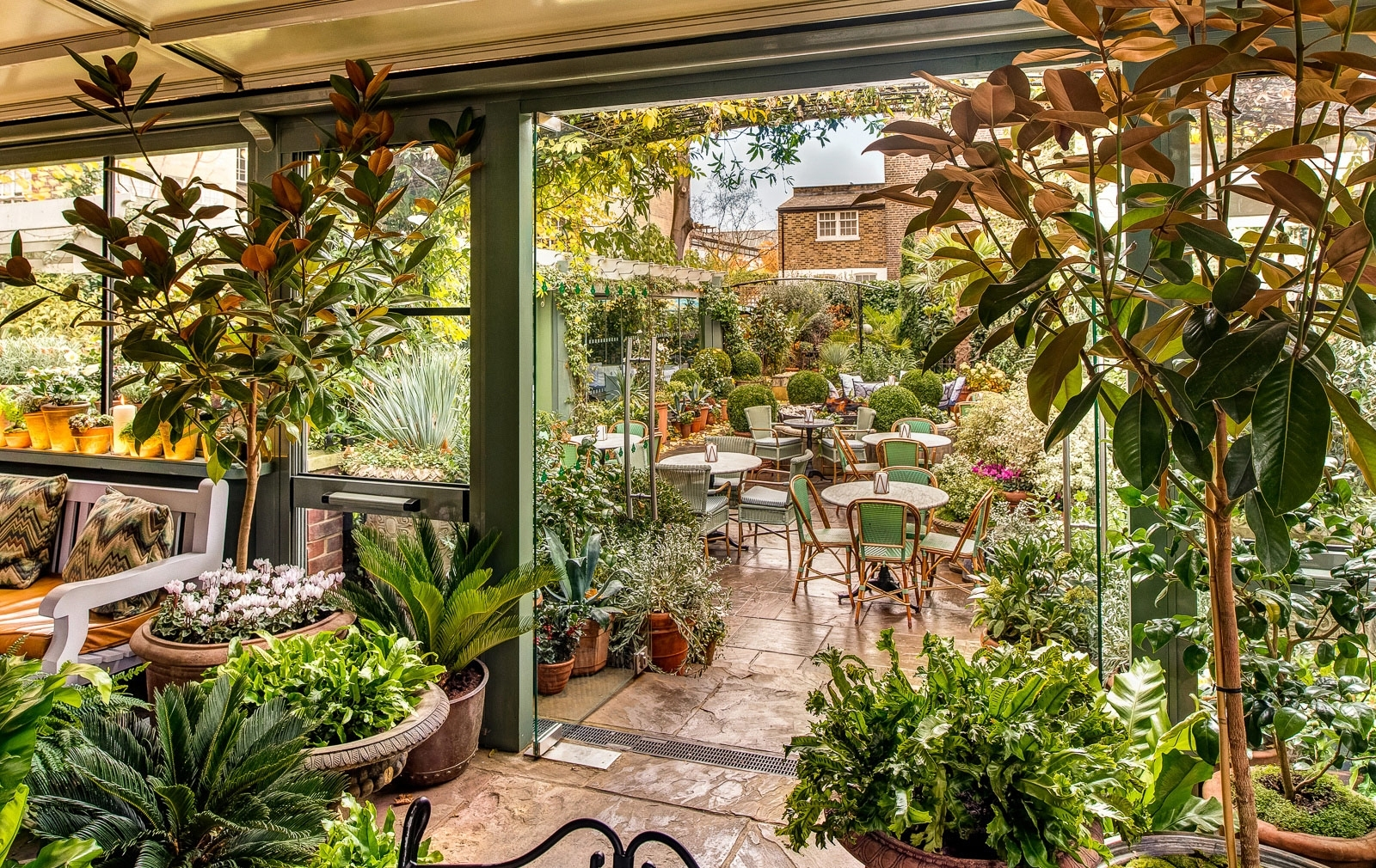 7 London Restaurants With Beautiful Gardens inside Garden House Cafe Opening Times