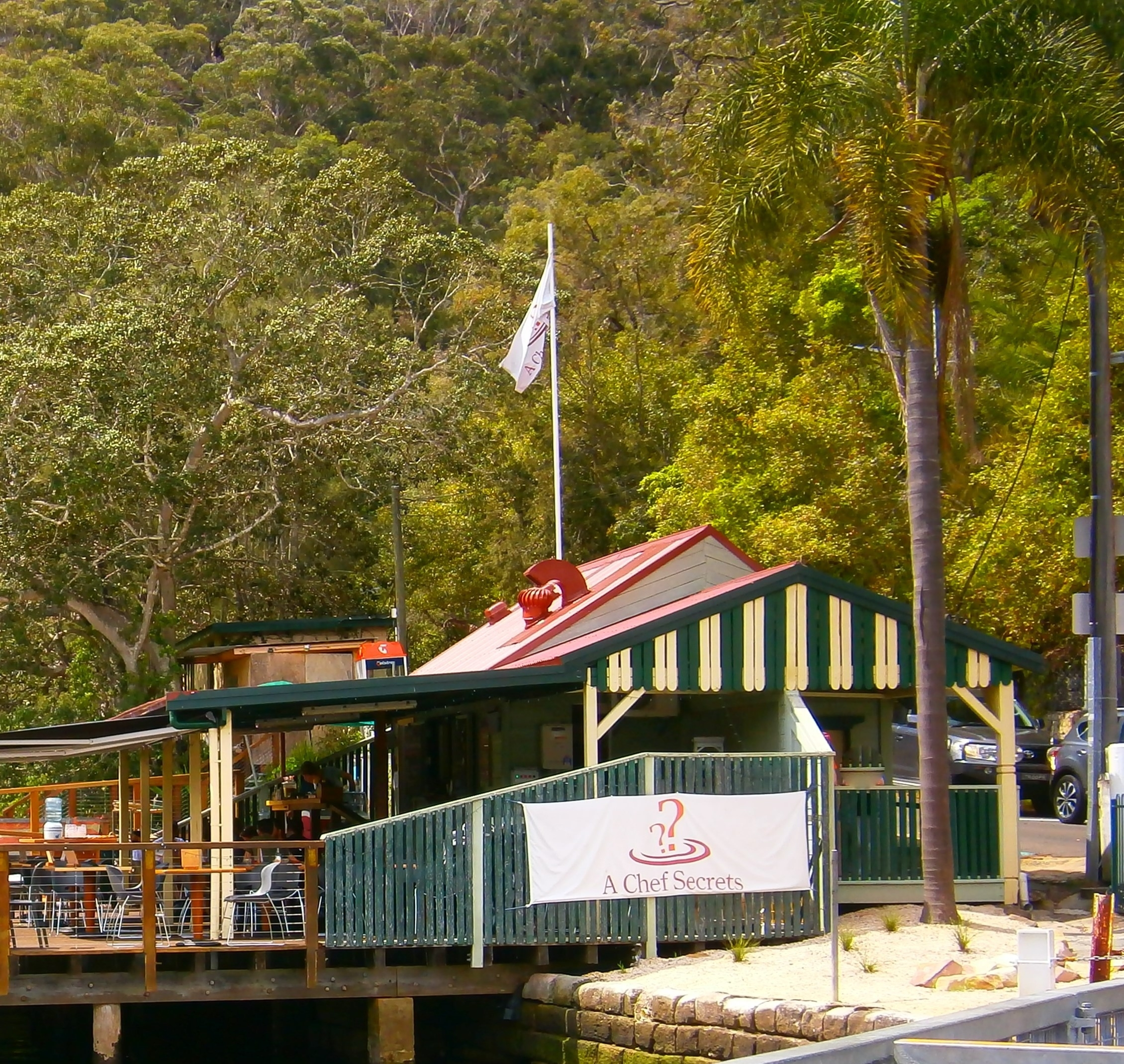 A Chef Secrets Cafe / Bistro - Sydney pertaining to Berowra Waters Garden House Cafe