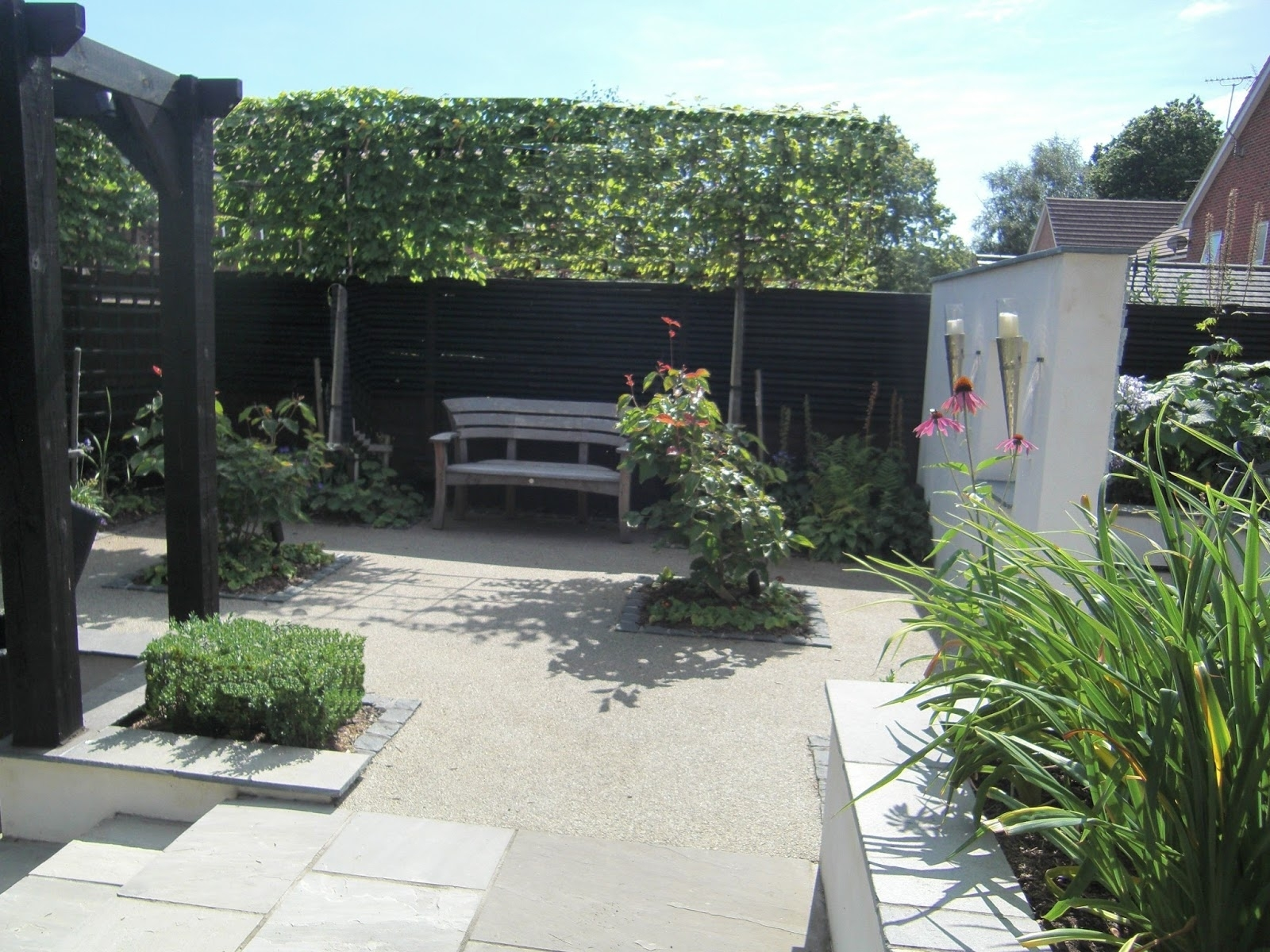 A Life Designing: Garden Design For New Build Homes & Small Spaces throughout Garden Design New Build House