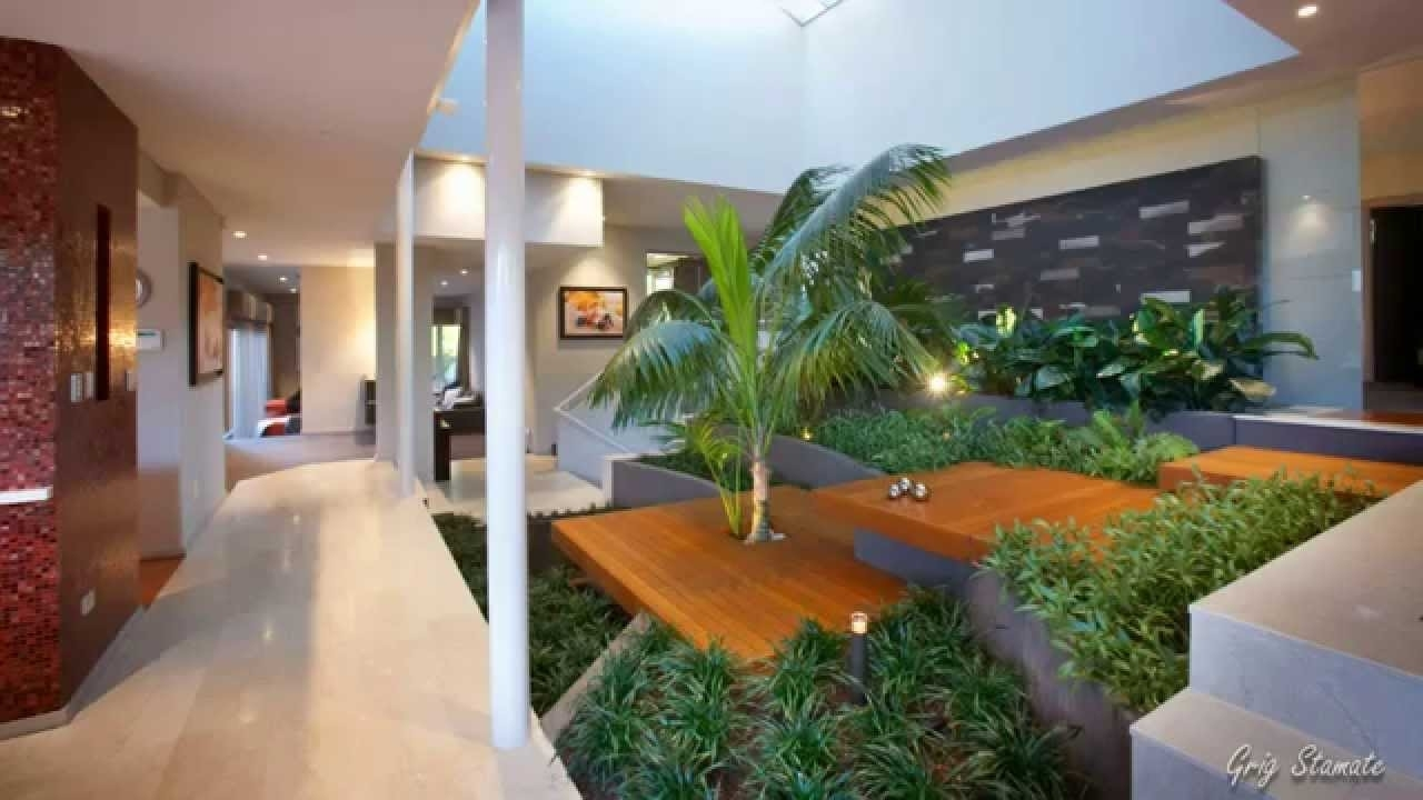 Amazing Indoor Garden Design Ideas, Bring Life Into Your Home - Youtube within House Design With Garden Inside