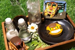 An Actual Totoro Restaurant Is Opening In Thailand! - Female with May's Garden House Restaurant Bangkok Menu