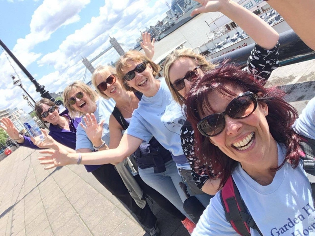 Bridges Of London Walks Raise Thousands For Letchworth-Based Garden with regard to Garden House Hospice Bridges Of London Walk